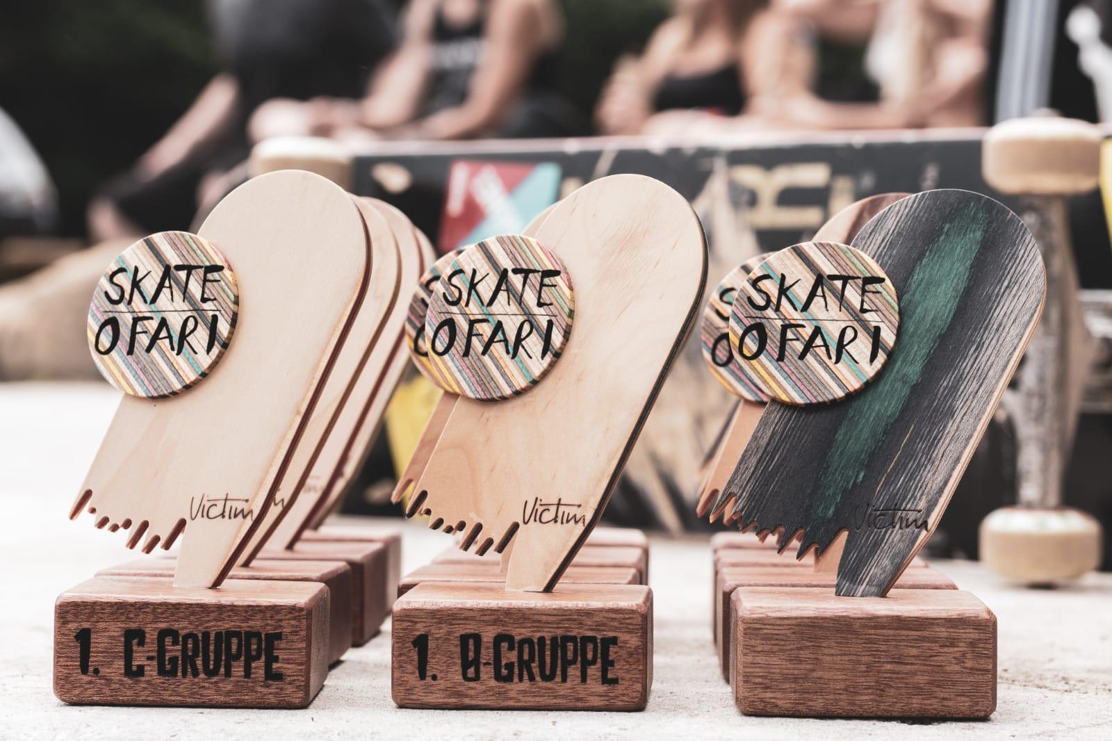 Skate O Fari Jever 2018 Skateboard Pokale